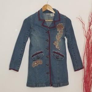 Mary Kate and Ashley | Denim Jacket Applique 10/12